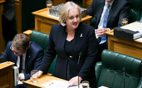 Justice Minister Amy Adams moved a motion in the House to apologise to homosexual New Zealanders 