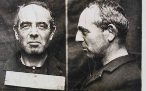 Charles Mackay in prison after shooting Walter D'Arcy Cresswell who had threatened to expose him as a homosexual.