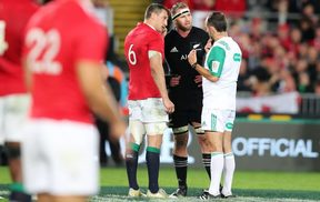 Kieran Read and Sam Warburton discuss that penalty