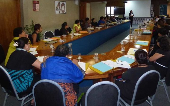 Participants attending the Women in Leadership Programme.