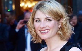Jodie Whittaker arriving for the British premiere of her film 'Attack the Block' in London, 2011.