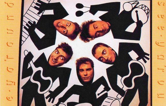Split Enz - See Ya 'Round album artwork