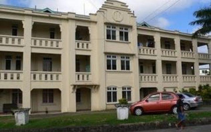Colonial War Memorial Hospital in Suva