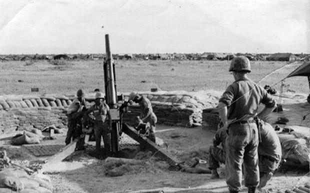Gunners of the Royal New Zealand Artillery 161 Battery, which served in the Vietnam War.