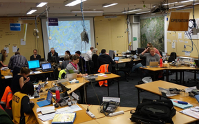 The Emergency Operations centre has been activated in Dunedin.
