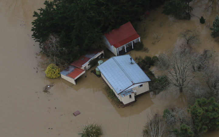 The Otago Regional Council has been surveying the areas flooded by heavy rain.