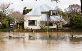 So far, 30 homes have been flooded above floor level, say authorities, after the Heathcote River burst its banks on the weekend.