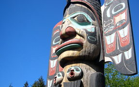 Ketchican totem pole