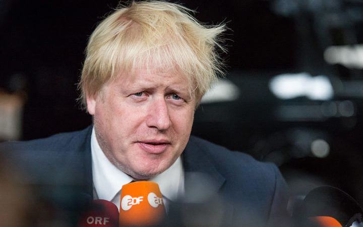 Police called to home of United Kingdom  leadership hopeful Boris Johnson