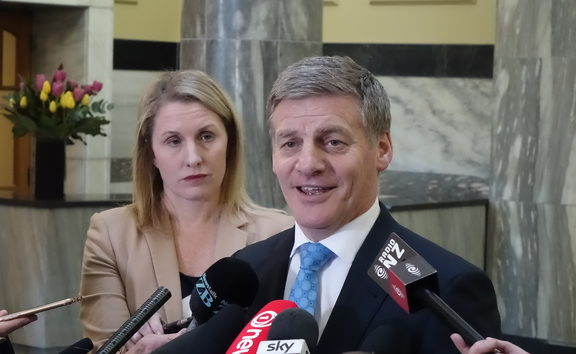 Prime Minister Bill English  26 July 2017
