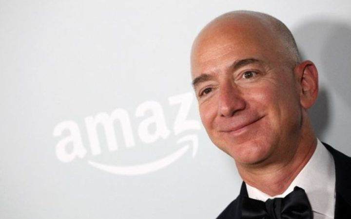 Jeff Bezos the CEO of Amazon and now the world's richest person