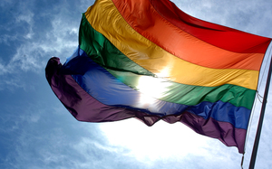 LGBT rainbow flag (file photo)