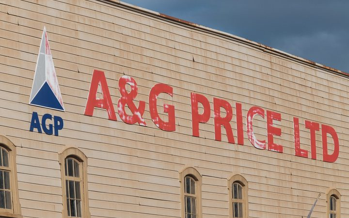 The A&G Price factory in Thames.