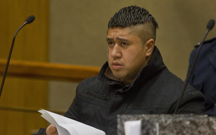 Mauha Huatahi Fawcett on trial for murdering Mellory Manning, in the Christchurch High Court.
