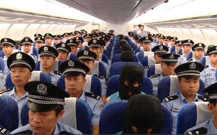 The 77 people who are suspected to be involved in a massive online fraud syndicate were rounded up and flown from Nadi to China last week.