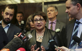 Metiria Turei and James Shaw after Greens caucus. Two Green Party MPs, Kennedy Graham and David Clendon have withdrawn from their party's caucus, following their criticism of co-leader Metiria Turei.