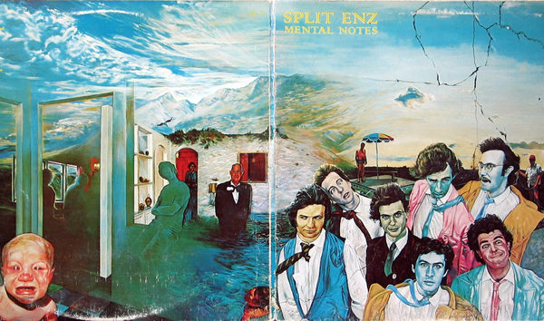 Mental Notes by Split Enz cover art