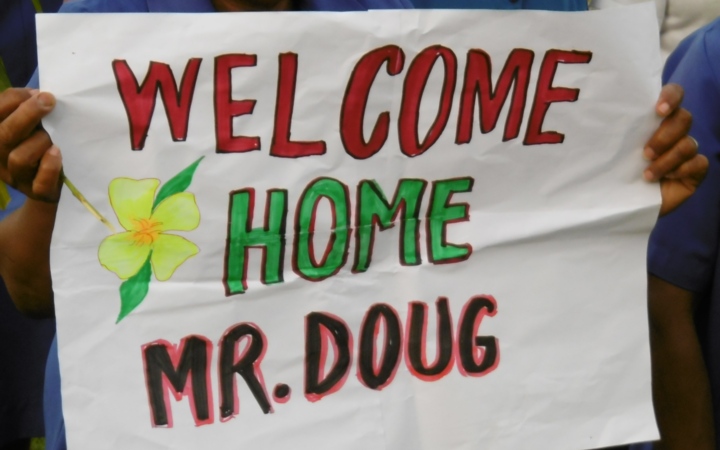 Welcome back to PNG for New Zealander Doug Tennent