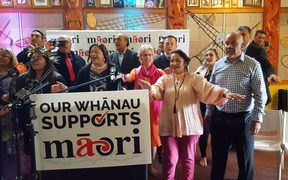The Māori Party launched its campaign at Manurewa marae in Auckland.