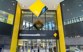 The Commonwealth Bank of Australia is the country's largest bank.