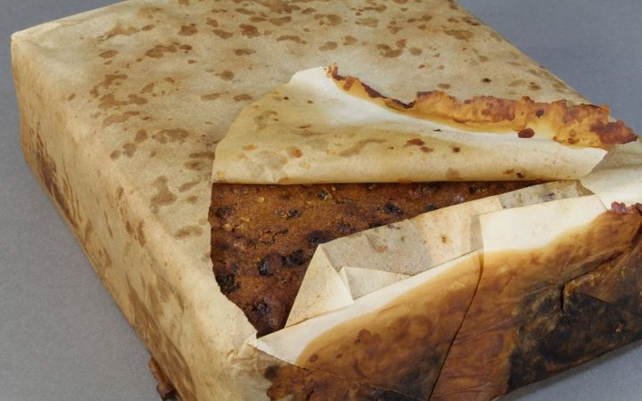 Century-old fruitcake from Antarctica to go on display