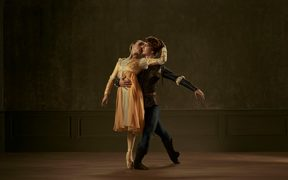 The Royal New Zealand ballet company's Romeo and Juliet.