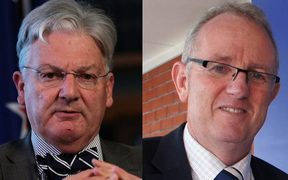 Peter Dunne (left) and Greg O'Connor (right) are in a tough fight for the Ōhāriu electorate.