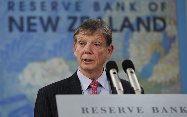 Reserve Bank governor Graeme Wheeler.