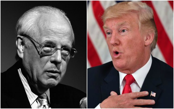 John Dean and Donald Trump.