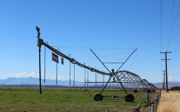 Irrigation in the Mackenzie Basin.