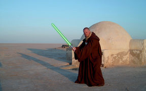 Star Wars Fans on Location in Tunisia