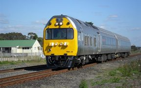 The service would be launched with refurbished 45-year-old Silver Fern railcars.