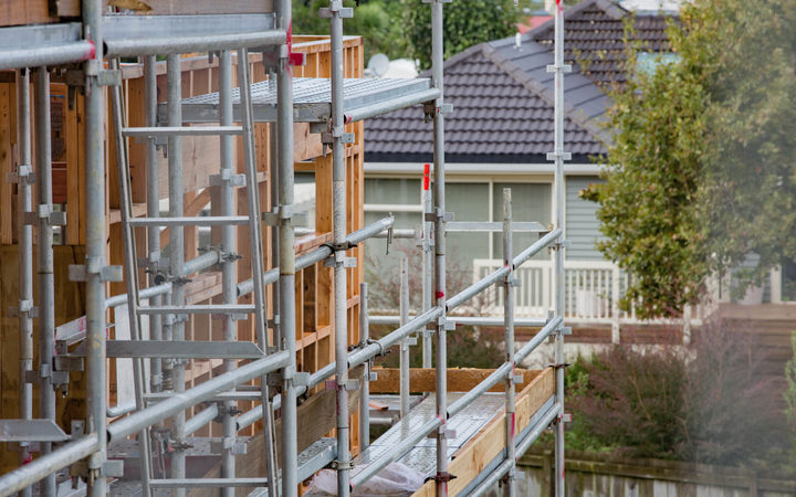 Housing construction in an East Auckland suburb