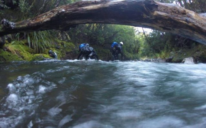 The Police National Dive Squad searched the Matawai Stream.