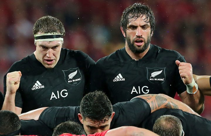 Bledisloe Cup: All Blacks skin the Wallabies 54-34 without really trying