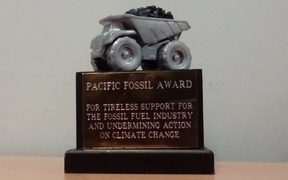 Pacific Civil Society calls out Australia with new climate award