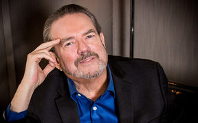 American songwriter, composer and singer Jimmy Webb.