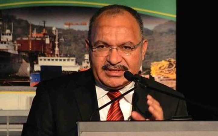 The Prime Minister of Papua New Guinea Peter O'Neill