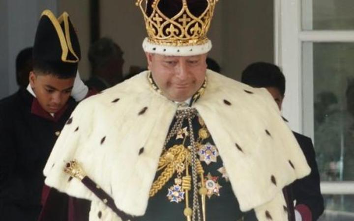 Tonga's King Tupou VI