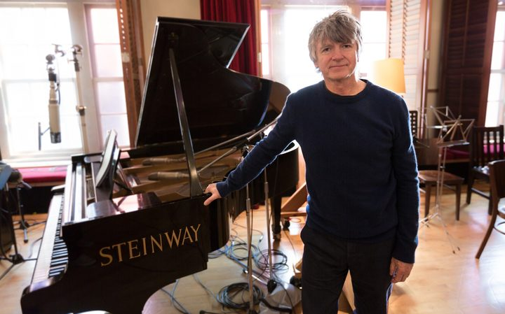 Neil Finn at Roundhead Studios.