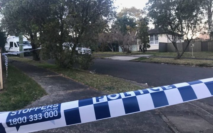 Emergency crews were called to a house on Danny Road in Lalor Park, in Sydney's west, just after 8pm on Sunday following reports of gunfire and loud yelling.