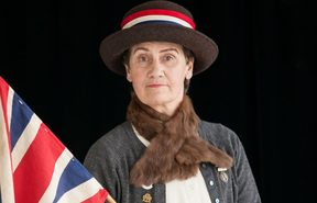 Jan Bolwell tells her grandfather's WW1 story in her show Bill Massey's Tourists