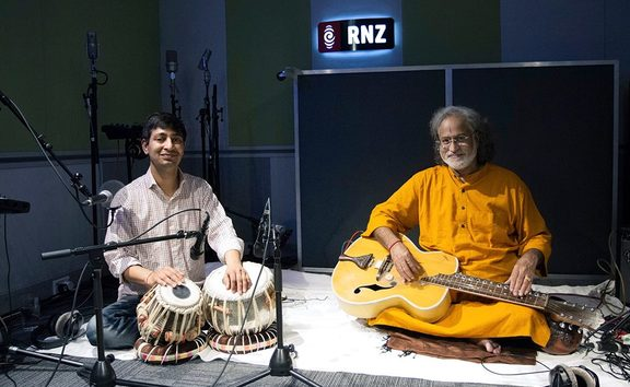 No captionBasant Madhur and Vishwa Mohan Bhatt