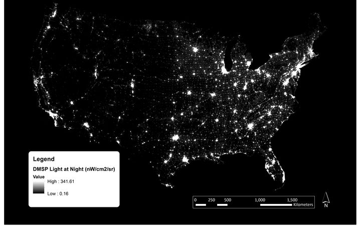 Could Brighter Street Lighting Be Harming Our Health - Street light map us