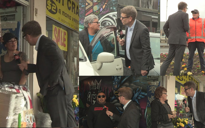 John Campbell talks to locals in Ngāruawāhia about the issues that matter most to them ahead of the election.