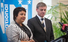 Paula Bennett and Bill English. 2 February 2017.