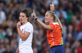 2017 Women's Rugby World Cup Final, Kingspan Stadium, Belfast 26/8/2017England vs New ZealandReferee Joy Neville