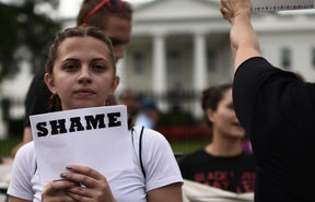 Immigrants and supporters demonstrate during a rally in support of the Deferred Action for Childhood Arrivals (DACA) in front of the White House on September 5, 2017 in Washington DC.