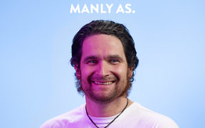 "Greg in the ""Manly As"" Campaign"