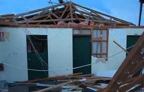 Social media posts show damage to a kohanga in Arahura, near Hokitika.